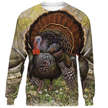 Load image into Gallery viewer, Turkey hunting clothes 3D all over print shirt, long sleeve, hoodie plus size NQS96 PQB