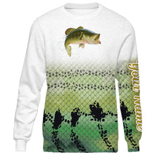Load image into Gallery viewer, Personalized bass fishing 3D full printing shirt for adult and kid