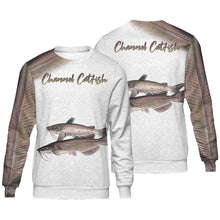 Load image into Gallery viewer, Channel catfish fishing full printing