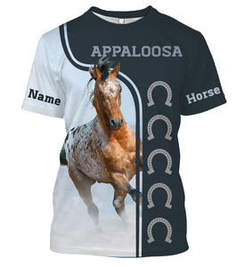 Personalized your name and your Appaloosa horse name full printing shirt and hoodie - TATS24