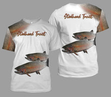 Load image into Gallery viewer, Steelhead trout fishing full printing
