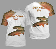 Load image into Gallery viewer, Westslope cutthroat trout fishing full printing
