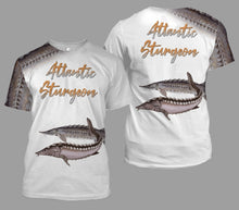 Load image into Gallery viewer, Atlantic sturgeon fishing full printing
