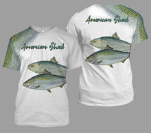 Load image into Gallery viewer, American shad fishing full printing
