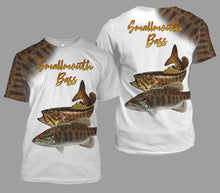 Load image into Gallery viewer, Smallmouth bass fishing full printing
