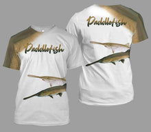 Load image into Gallery viewer, Paddlefish fishing full printing