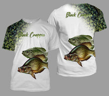Load image into Gallery viewer, Crappie fishing full printing