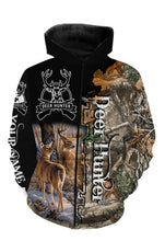 Load image into Gallery viewer, Personalized beautiful deer hunting camo 3d all over printed shirts - TATS4