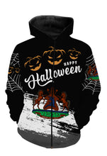 Load image into Gallery viewer, Lesotho halloween all over full printing shirt and hoodie PQB16