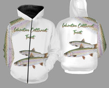 Load image into Gallery viewer, Lahontan cutthroat trout fishing full printing