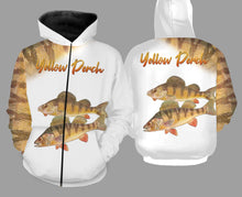 Load image into Gallery viewer, Yellow perch fishing full printing