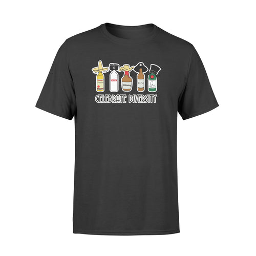 Celebrate Diversity Shirt and Hoodie - QTS6