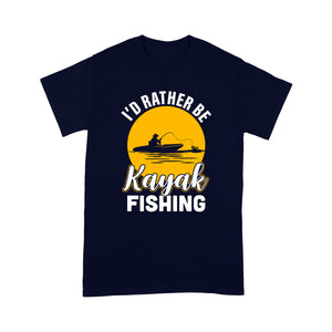 Kayak Fishing T-shirt design vintage style - awesome Birthday, Christmas gift for fishing lovers - IPH2107