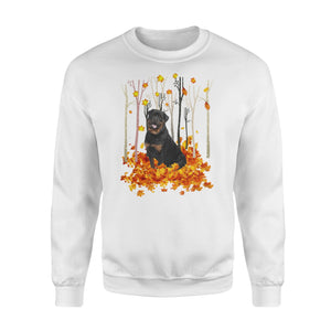 Fall Rottweiler Shirt and Hoodie - IPH490