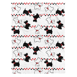 Scottish Terrier Fleece Blanket - IPH425