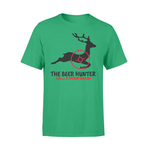 The Beer Hunter... Er I Mean Deer Funny Hunting T-Shirt for Men - FSD443