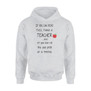 Teacher Shirt and Hoodie - QTS132