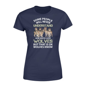 I Love Wolves Shirt and Hoodie  - IPH326