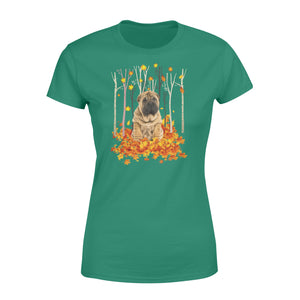 Fall season Shar pei dog print women T shirt design - IPH727