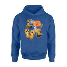 Load image into Gallery viewer, Camping Halloween Shirt and Hoodie- QTS75