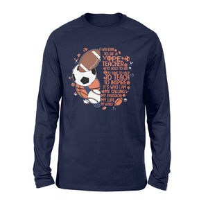 PE teacher Shirt and Hoodie - qts96