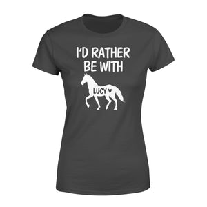 Personalized horse name shirt and hoodie