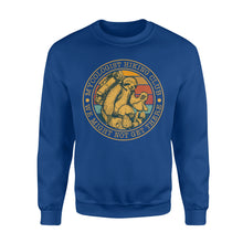 Load image into Gallery viewer, Mycologist Sloth Hiking Club Sweatshirt - IPH373