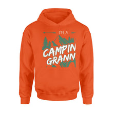 Load image into Gallery viewer, Camping Granny Shirt and Hoodie - SPH6