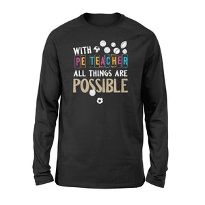 PE teacher Shirt and Hoodie - QTS50