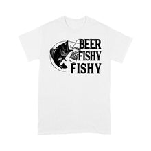 Load image into Gallery viewer, Beer Fishy Fishy Fishing T-shirt, funny fishing shirt for men, women - NQS1224