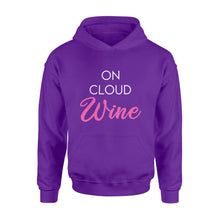Load image into Gallery viewer, On cloud wine Shirt and Hoodie