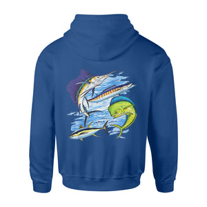 Sea fishing shirt and hoodie