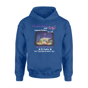 Camping couples Shirt and Hoodie - QTS97