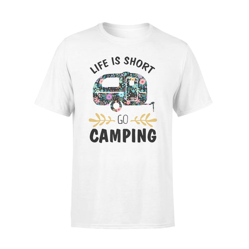 Life is short go camping Shirt and Hoodie - QTS30
