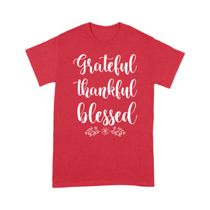Grateful thankful blessed - Standard T-shirt