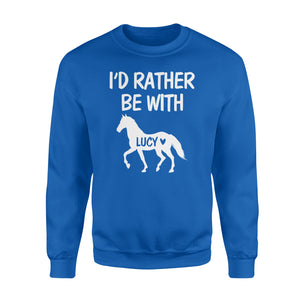 Personalized horse name shirt and hoodie - Standard Fleece Sweatshirt