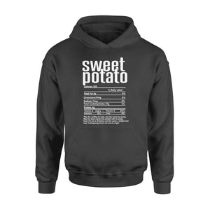 Sweet potato nutritional facts happy thanksgiving funny shirts - Standard Hoodie