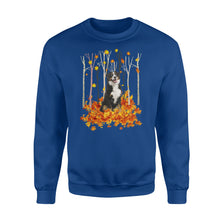 Load image into Gallery viewer, Cute Bernese Mountain dog fall season Sweatshirt gift ideas for dog lovers - IPH444