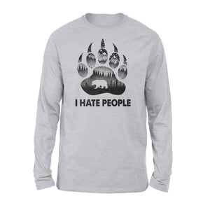 I hate people Camping Shirt - 3DQ31