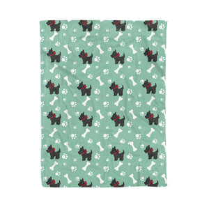 Scottish Terrier Fleece Blanket