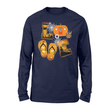 Load image into Gallery viewer, Love Camping Halloween Shirt, funny camping shirt - QTS75