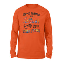 Load image into Gallery viewer, Hippie woman Shirt and Hoodie - SPH50