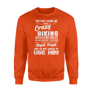 Crazy biking partner for life Shirt and Hoodie - SPH59