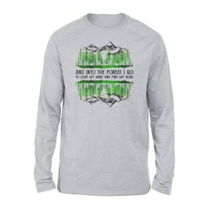 Forest camping Shirt and Hoodie - QTS49