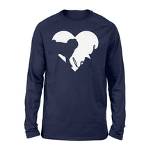 Load image into Gallery viewer, Love Pug Shirt and Hoodie - IPH385