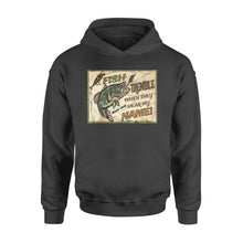 Load image into Gallery viewer, Fish tremble personalized - Standard Hoodie