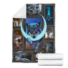 Load image into Gallery viewer, 3D Wolf Blanket - 3DTH150
