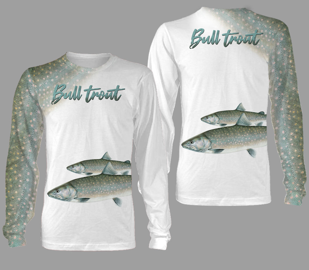 Bull trout fishing full printing