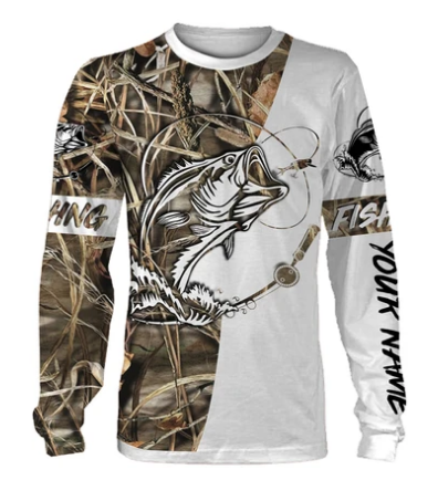 Personalized fishing tattoo full printing shirt, long sleeves, hoodie, zip up hoodie