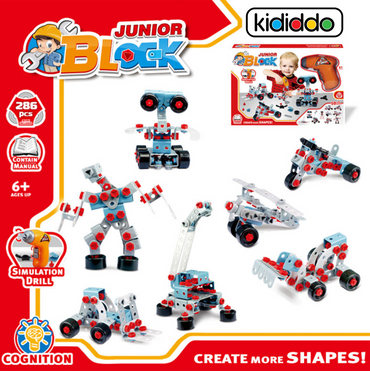 Junior Building Blocks Robotic Set